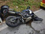 Egerkingen SO - Zwei Verletzte nach Sturz bei Motorradunfall