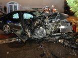 Autounfall Olten SO - Junglenker (18) rast frontal in Betonmauer, schwer verletzt