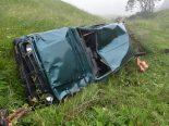 Seewis GR - Autolenker gerät vom Weg ab und stirbt