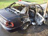 Oberbuchsiten SO - Auto vollständig ausgebrannt
