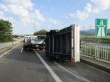 Bilten GL - Unfall auf der Autobahneinfahrt