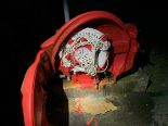 Neuhausen am Rheinfall SH - Rettungsring-Box in Brand gesetzt