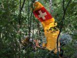 Freiburg FR - Flugzeug verpasst Landung und stürzt ab