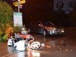 Heiden AR - Verkehrsunfall mit dreirädrigem Kleinmotorrad