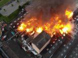 Laufen BL - 180 Personen bei Grossbrand im Einsatz