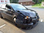 Reute AR - Unfall zwischen zwei Autos