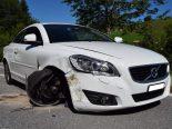 Unfall Gais AR - Frontalkollision zwischen zwei Autos