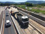 Aesch BL - Autobahn A18 in beiden Fahrtrichtungen gesperrt