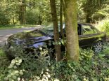 Verkehrsunfall Uster ZH - Junglenker (19) prallt gegen Baum
