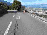 Altstätten SG - Motorradfahrer (19) bei Unfall gegen Stützmauer geprallt