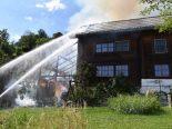 Sargans SG - 100'000 Franken Sachschaden nach Brand