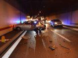 Unfall auf der A5 bei Zuchwil SO - Auto prallt in Pannenfahrzeug