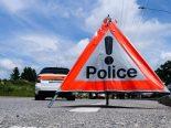 Unfall Marly FR - Autofahrer prallt in Einkaufszentrum und stirbt