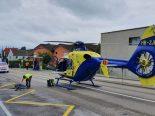 Arbeitsunfall in Zug ZG - Mann (33) erheblich verletzt