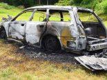 Emmetten NW - 1-jähriges Mädchen bei Fahrzeugbrand erheblich verletzt