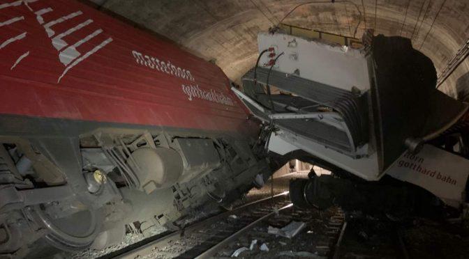 Zugunfall in Oberwald VS - Zwei Züge kollidiert: Mehrere Verletzte