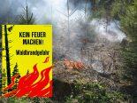 Kanton Solothurn - Absolutes Feuer- und Feuerwerksverbot im Wald und in Waldesnähe