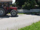 Unfall Wittenbach SG - Mofafahrer von Traktor erfasst