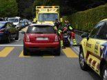 Unfall in Uznach SG - Auto erfasst Fußgänger