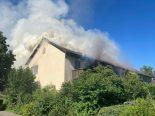 Winterthur-Wülflingen ZH - Hoher Sachschaden bei Brand in Mehrfamilienhaus