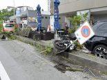 Reussbühl LU - Schwerer Motorradunfall fordert zwei Verletzte