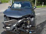 Hochdorf LU - Verkehrsunfall mit Kind an Bord