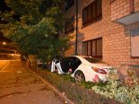 Selbstunfall Basel-Stadt BS - Betrunken Hausmauer durchbrochen