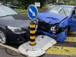 Unfall Wohlen AG - 77-jährige Lenkerin crasht BMW