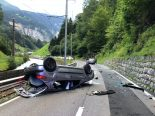 Zwei Verletzte bei Unfall in Lauterbrunnen BE