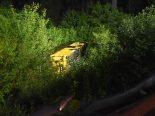 Sagogn GR - Postauto stürzt 40 Meter den Abhang hinunter