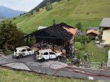 Wiesen GR - Grosser Sachschaden durch Hausbrand