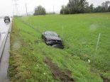 Bilten GL - Verkehrsunfall auf der Autobahn A3 infolge Aquaplaning