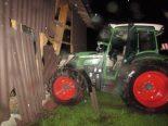 Matt GL - 16-Jähriger durchbricht bei Traktorunfall den Strassenzaun