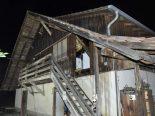 Kleinlützel SO - Wespenspray löst Brand bei Besenbeiz Remel aus