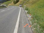 Sumvitg GR - Motorradfahrerin nach Unfall erheblich verletzt