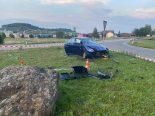 Unfall in Thayngen SH - Auto überschlägt sich