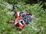 Herisau AR - Fahrlehrer bei Motorradunfall verletzt