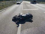 Motorrad-Unfall in Nenzlingen BL - Lenker verletzt