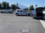 Zug ZG - Autofahrerin (33) bei seitlich-frontalem Unfall verletzt