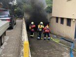 Allschwil BL - Grosser Sachschaden nach Brand in Einstellhalle