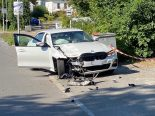 Crash in Lenzburg