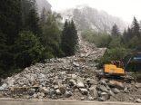 Grimselpassstrasse nach Murgang bis auf weiteres gesperrt