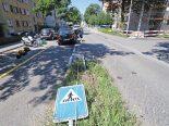 St.Gallen - Autolenkerin fährt über Verkehrsinsel