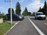 Rapperswil-Jona SG - Velofahrerin prallt bei Unfall in Auto