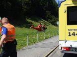 Selbstunfall St.Gallen Motorrad