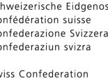 Schweiz, Eidgenossenschaft
