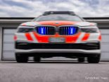 Unfall Bronschhofen SG - Blaufahrer kollidiert mit Verkehrsberuhigungsinsel