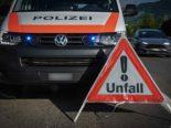 Ramsen SH - Rollerfahrer bei Unfall mit Wohnmobil schwer verletzt