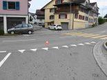 Niederbüren SG - Fahrradfahrer von Auto erfasst