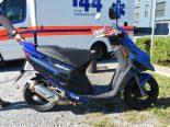 Staad SG - Rollerfahrerin verunfallt